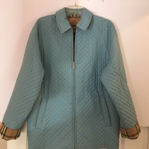 Burberry large women's quilted jacket